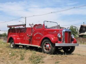 El Mack de la 2a durante una reparación en Temuco 2010