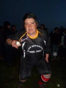 Arquero Juvenil Arauco. Manifestó se retiraría del fútbol (Foto Héctor Alarcón C.)