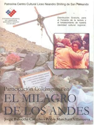 Participación Colchaguina en el Milagro de los Andes