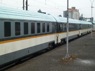 El tren en la estación de Lautaro