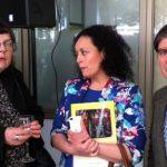 Eugenia Toledo, Paula Diez y Nelson Pacheco Nel