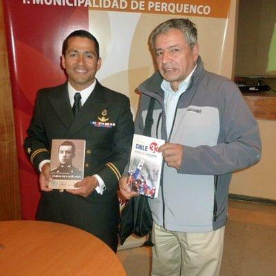 "En Perquenco se lanzó libro ""Chile 33. Memorias de un Rescatista"""