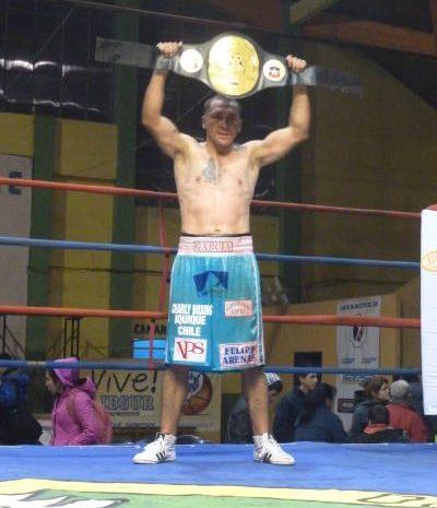 José García, de Iquique, nuevo Campeón Super Mediano de boxeo