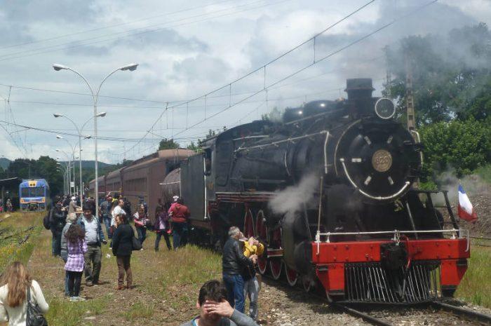Ferrocarriles en La Araucanía