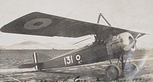 Candelaria: de Zapala a Cunco en avión, hace 99 años