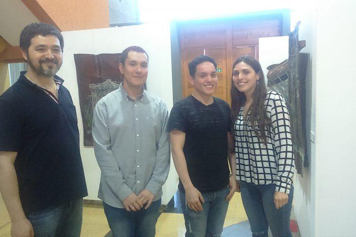 Colectivo Nueve de UC Temuco expone en Lautaro