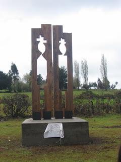 Icono Mapuche recuerda las Paces de Quilín