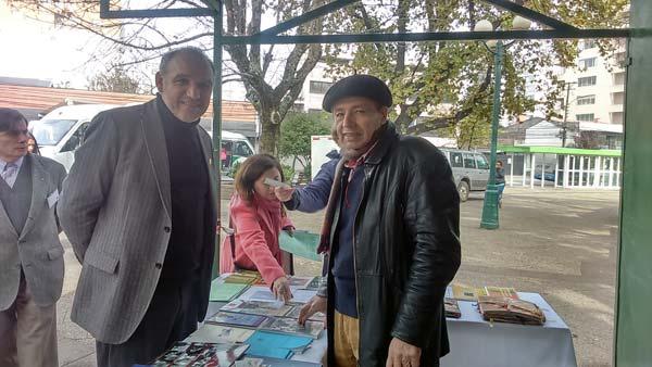 Escritores en el Día del Libro en Temuco