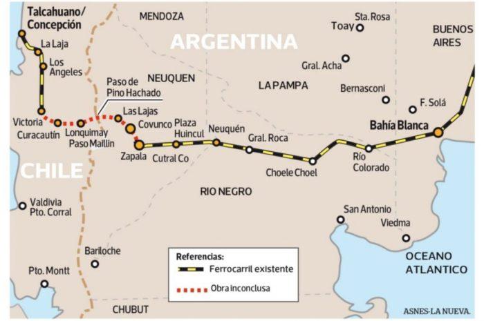 Ferrocarril Trasandino del Sur: un proyecto que tiene 130 años