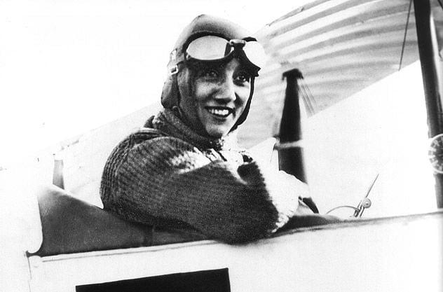 100 años del vuelo prodigioso de la aviatriz francesa Adrienne Bolland, Primera mujer en atravesar los Andes en avión