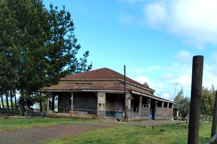 Estación ferroviaria Ranquilco, en el ex ramal Temuco a Carahue